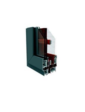 GR88隔热纱窗一体系列