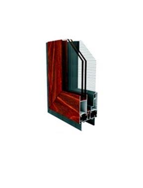 GD62隔热双外开窗纱一体系列